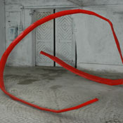 Nucleo, stainless steel, 285x420x500 cm, 2005